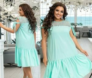 Платье короткое летнее Я7940