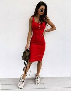 Платье короткое облегающее Я9085