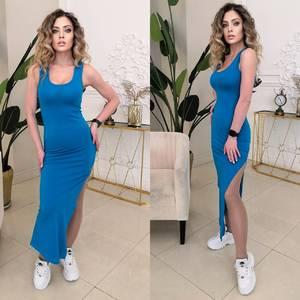 Платье длинное летнее А26210