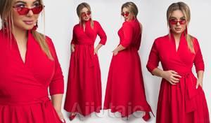 Платье длинное нарядное А31487