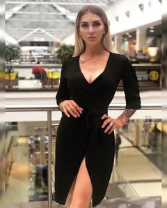Платье короткое однотонное Ч2909