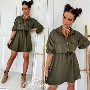 Платье короткое нарядное А09575