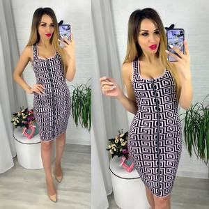 Платье короткое облегающее Ю6418