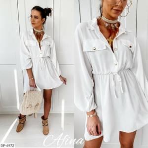 Платье короткое нарядное А09576