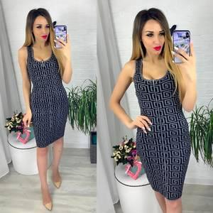 Платье короткое облегающее Ю6419
