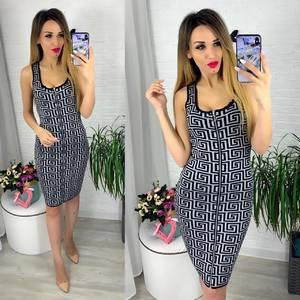 Платье короткое облегающее Ю6420