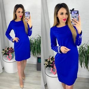Платье короткое современное Ю6415