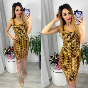 Платье короткое современное Ю6422