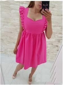 Платье короткое нарядное Ч4077