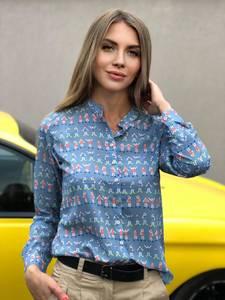 Рубашка с длинным рукавом Ш0799