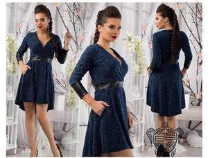 Платье короткое современное Ш1862