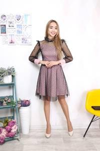 Платье короткое нарядное Ш8388