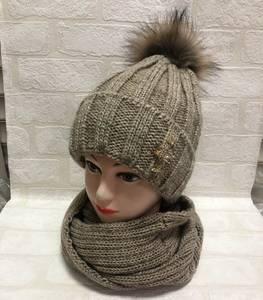 Шапка и шарф Хомут Ю1351