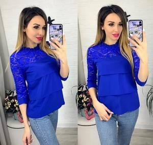 Блуза с коротким рукавом Я0636
