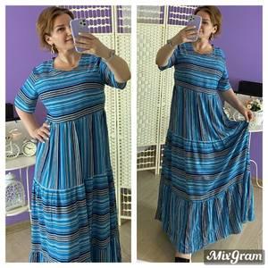 Платье длинное летнее Я6798