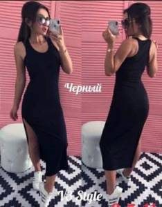 Платье короткое без рукавов А25924