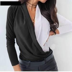 Блуза с длинным рукавом для офиса А29473