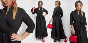 Платье длинное нарядное А31488