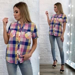 Рубашка с коротким рукавом А33521