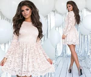 Платье короткое нарядное А57311