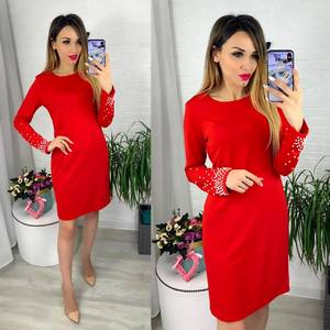Платье короткое современное Ю6416