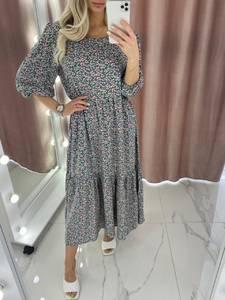 Платье длинное летнее А37899