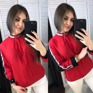 Блуза с длинным рукавом А03375
