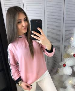 Блуза с длинным рукавом А03377