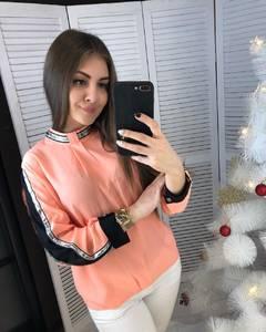 Блуза с длинным рукавом А03378