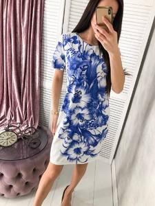 Платье короткое летнее Ч4446