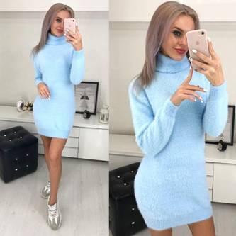 Платье короткое теплое Ш3602