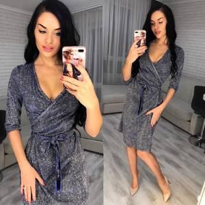 Платье короткое вечернее Ш6905