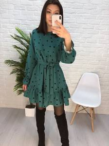 Платье короткое современное Ю2637