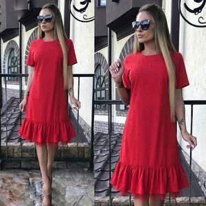Платье короткое современное Ю6431