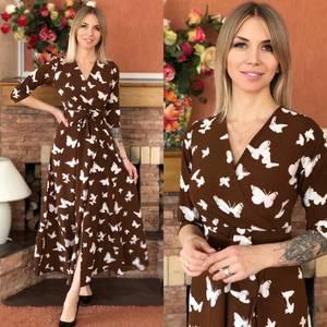 Платье длинное нарядное Ю8210