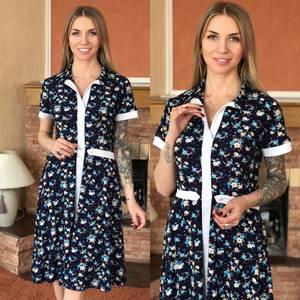 Платье короткое летнее Я1791
