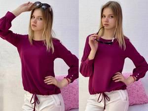Блуза с длинным рукавом Я7781