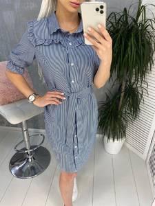 Платье короткое современное Я7803