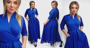 Платье длинное нарядное А31489