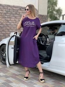 Платье длинное летнее А47724