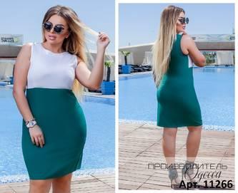 Платье короткое нарядное Ц5661