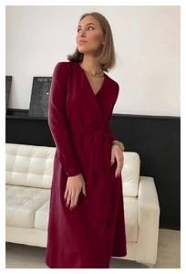 Платье длинное классическое А56545