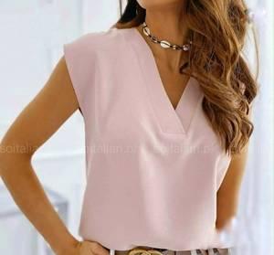 Блуза без рукавов А31273