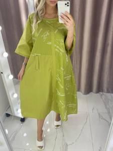Платье короткое летнее А37810