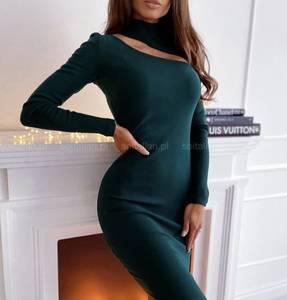 Платье короткое с длинным рукавом А56041