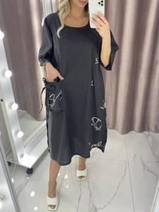 Платье короткое летнее А37815