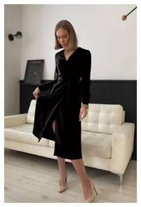 Платье длинное классическое А56546