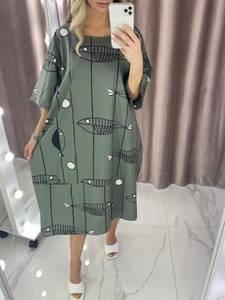 Платье короткое летнее А37820
