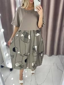 Платье короткое летнее А37822