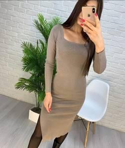 Платье короткое с длинным рукавом А56032